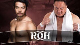 WWE 2k16 UNIVERSE MODE #145 ツ WWE VS  ROH 2016 ツ KENTA VS JOE