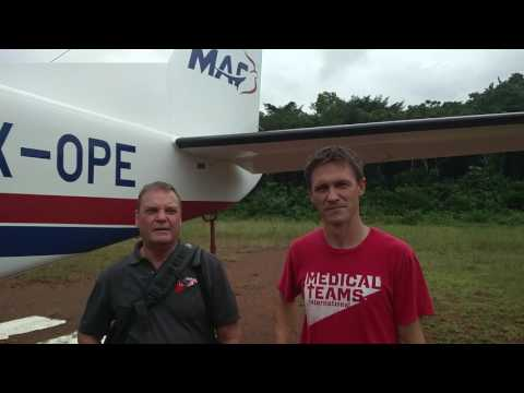Meet the passenger: Andrew and Daniel with Medical Team International