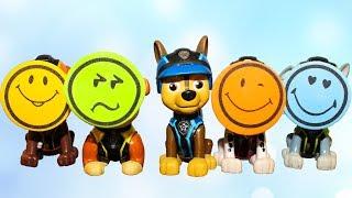 Щенячий патруль все серии Учим цвета Мультик для детей Изучаем цвета Learn Colors with Paw Patrol