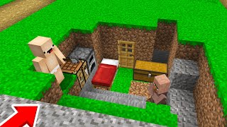 1000$ GİZLİ KAYIP EV - Minecraft
