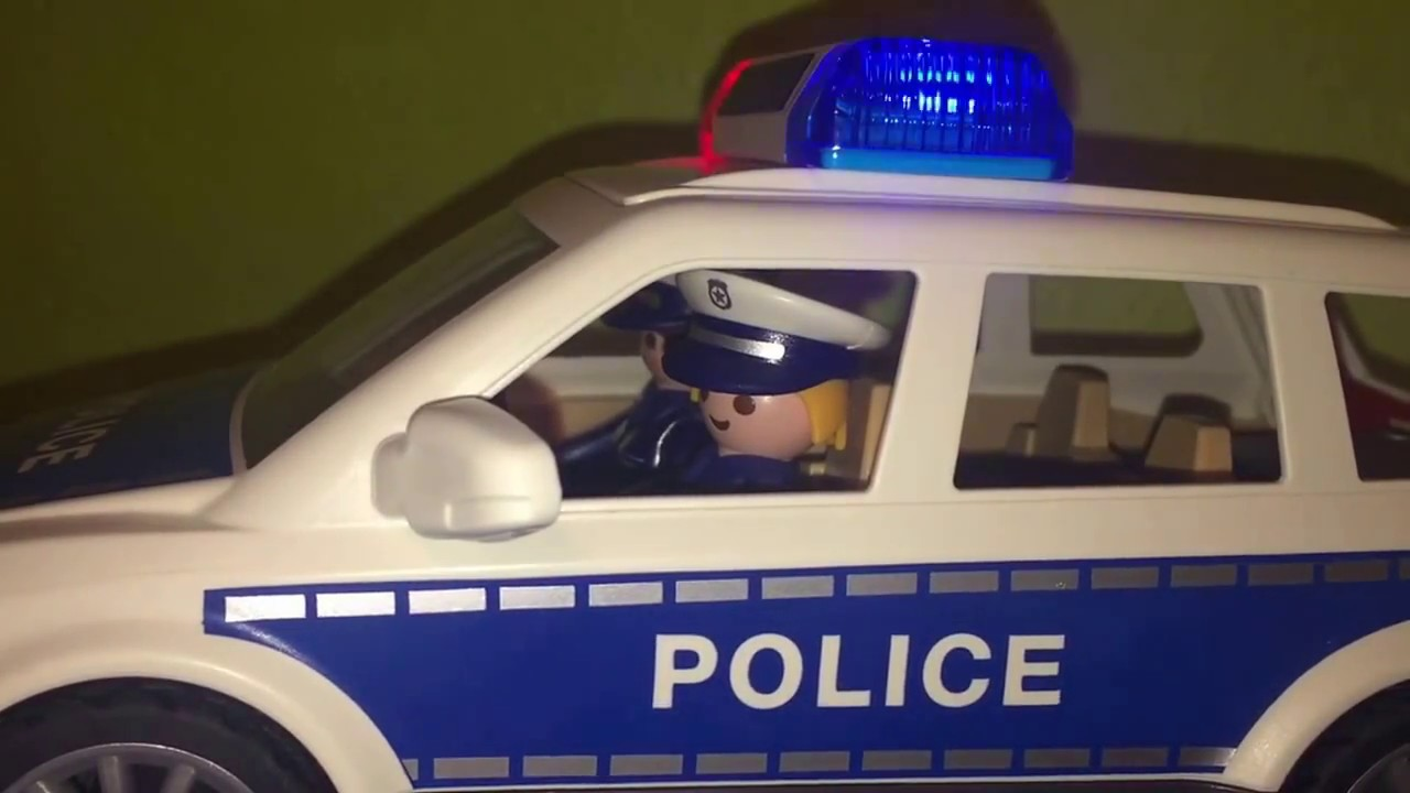 Playmobil Police Car 6920 City Action Youtube