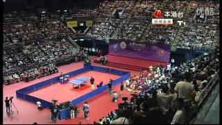 奥运金牌精英香港羽毛球乒乓球表演 Lin Dan vs. Zhang Jike!