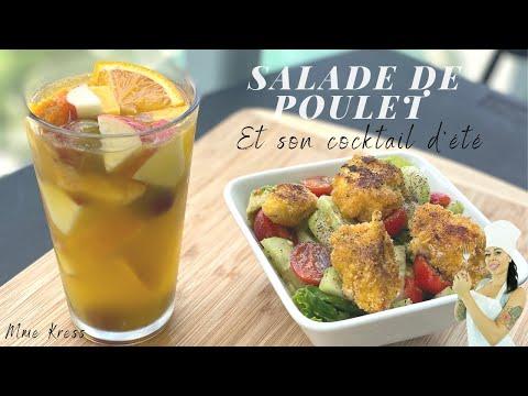 salade-de-poulet-et-son-cocktail-d'ÉtÉ