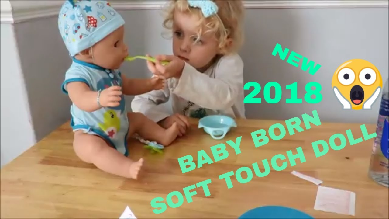 73239d2be NEW BABY BORN SOFT TOUCH