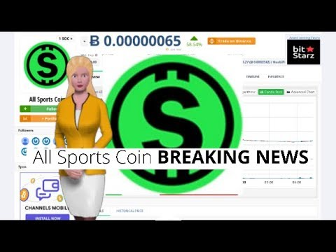 Cryptocurrency All Sports Coin $SOC Appreciates 58% In the Last Day 6