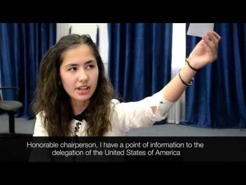 How To MUN | Points and Motions | UWED MUN 2016