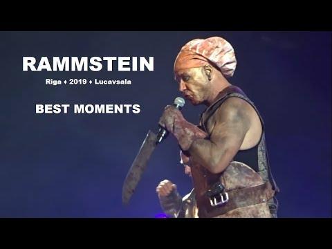 RAMMSTEIN Riga Lucavsala 2019 live concert full best moments