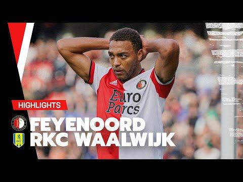 Feyenoord Waalwijk Goals And Highlights