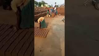 Small clay brick making machine