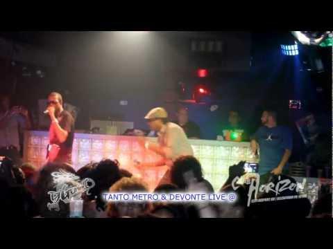 tanto metro n devonte live @ club horizon - DJ GEMINI