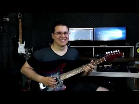 Guitarra Tonante Reformada! Som Incrível!