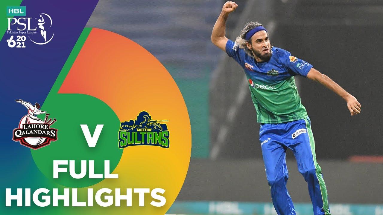 Download Full Highlights | Lahore Qalandars vs Multan Sultans | Match 28 | HBL PSL 6 | MG2T