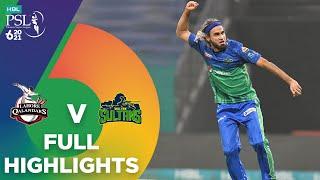 Full Highlights | Lahore Qalandars vs Multan Sultans | Match 28 | HBL PSL 6 | MG2T
