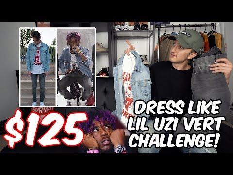 $125 DRESS LIKE LIL UZI VERT CHALLENGE