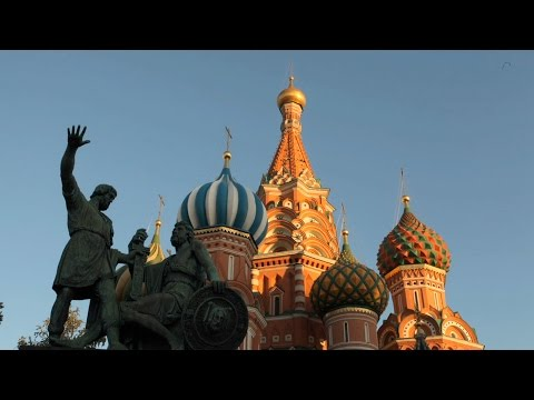 Inside St. Basil's Cathedral in Moscow's Red Square