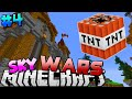 Minecraft: SkyWars Episode 4 - THE TNT GOT ME (Mineplex Skywars Server Game)