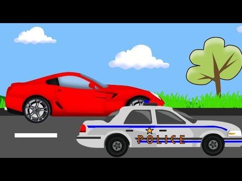 Policja Pościg Bajki Dla Dzieci Police Chase Auta Autka Youtube