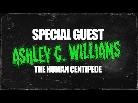 Ashley C. Williams of The Human Centipede