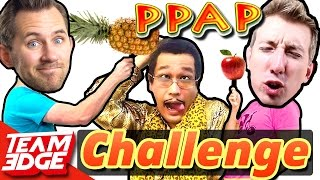 Pineapple Apple Pen Challenge!