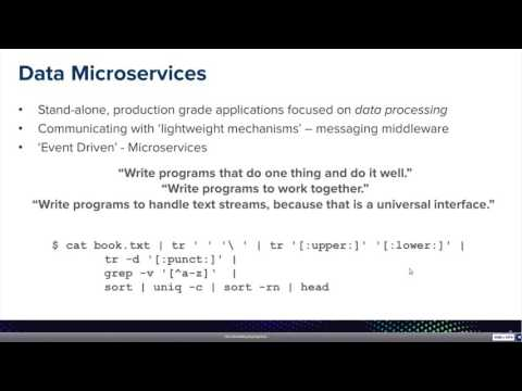 Webinar: Data Microservices in the Cloud