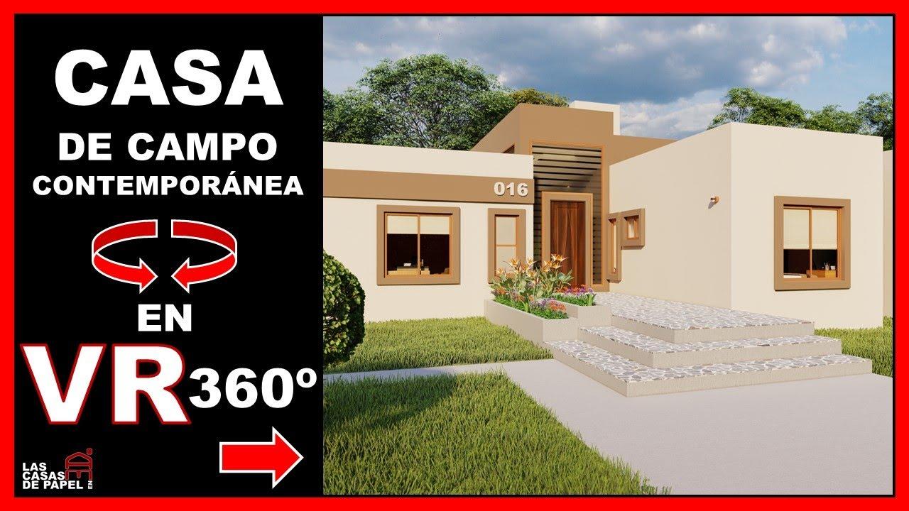 Recorrido Virtual 3d En 360 Vr Casa De Campo Contemporánea Casa Piamonte 016 Youtube