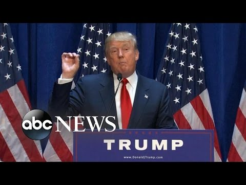 Donald Trump, The Presidential Candidate: Part 1