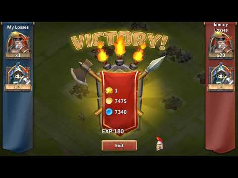 Castle Clash:  - How To Hero Level 40  And Claim Reward