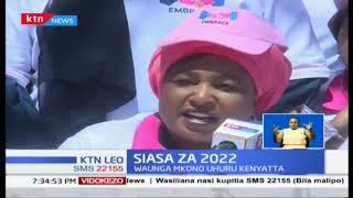 Siasa ya 2022: Viongozi wa wanawake wamuunga mkono swala la kujenga umoja na amani