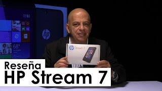 Unboxing: Stream 7 de HP con Windows 8.1 y Bing