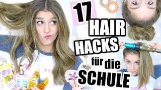 17 HAAR & FRISUREN TIPPS für SCHÜLER und ANFÄNGER ♡ BarbieLovesLipsticks