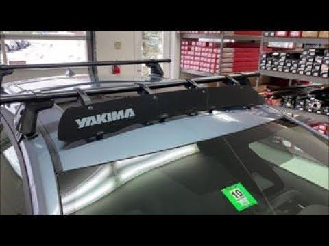 Yakima Windshield 40 Universal Wind Fairing 8005017 Youtube