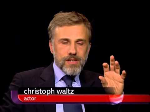 Christoph Waltz on Charlie Rose  February 2010