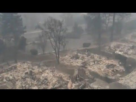 Hundreds still missing in Californias Camp Fire
