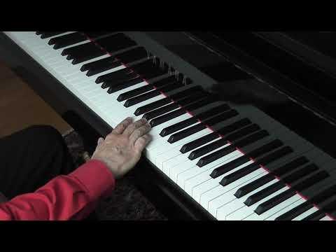 """""""Entspannter Anschlag & freies Handgelenk"""" Auszug aus dem Klavier Onlinekurs von Franz Titscher"""