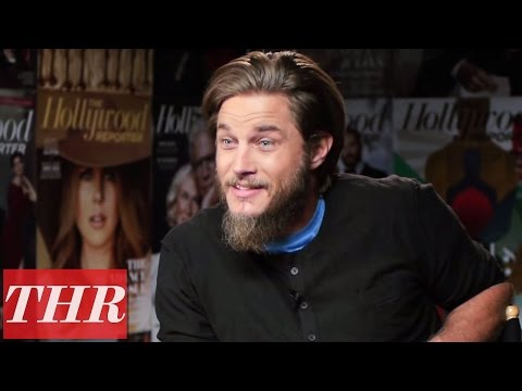 Travis Fimmel on the Success of 'Vikings'  THR Cover Lounge