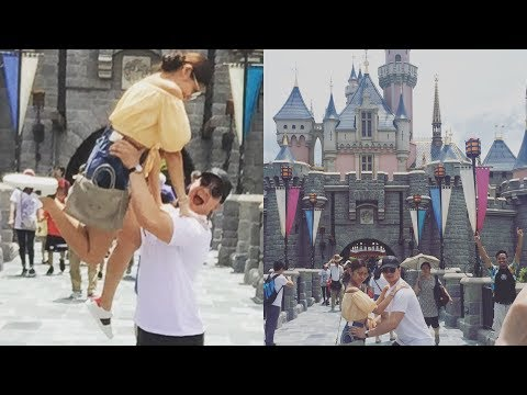Alden and Maine in HONG KONG Disneyland! (Day 3)