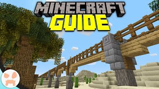 THE GREAT MONORAIL - How Railroads Work! | Minecraft Guide Episode 13 (Minecraft 1.15.1 Lets Play)
