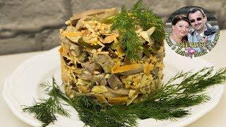 Как приготовить язык говяжий, и 2 вкуснейших салата с ним  Один  салат в Азиатском стиле и в Русском