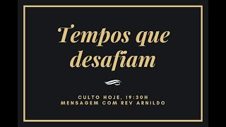 IP Central de Itapeva - Culto de Domingo Noite  - 21/02/2021