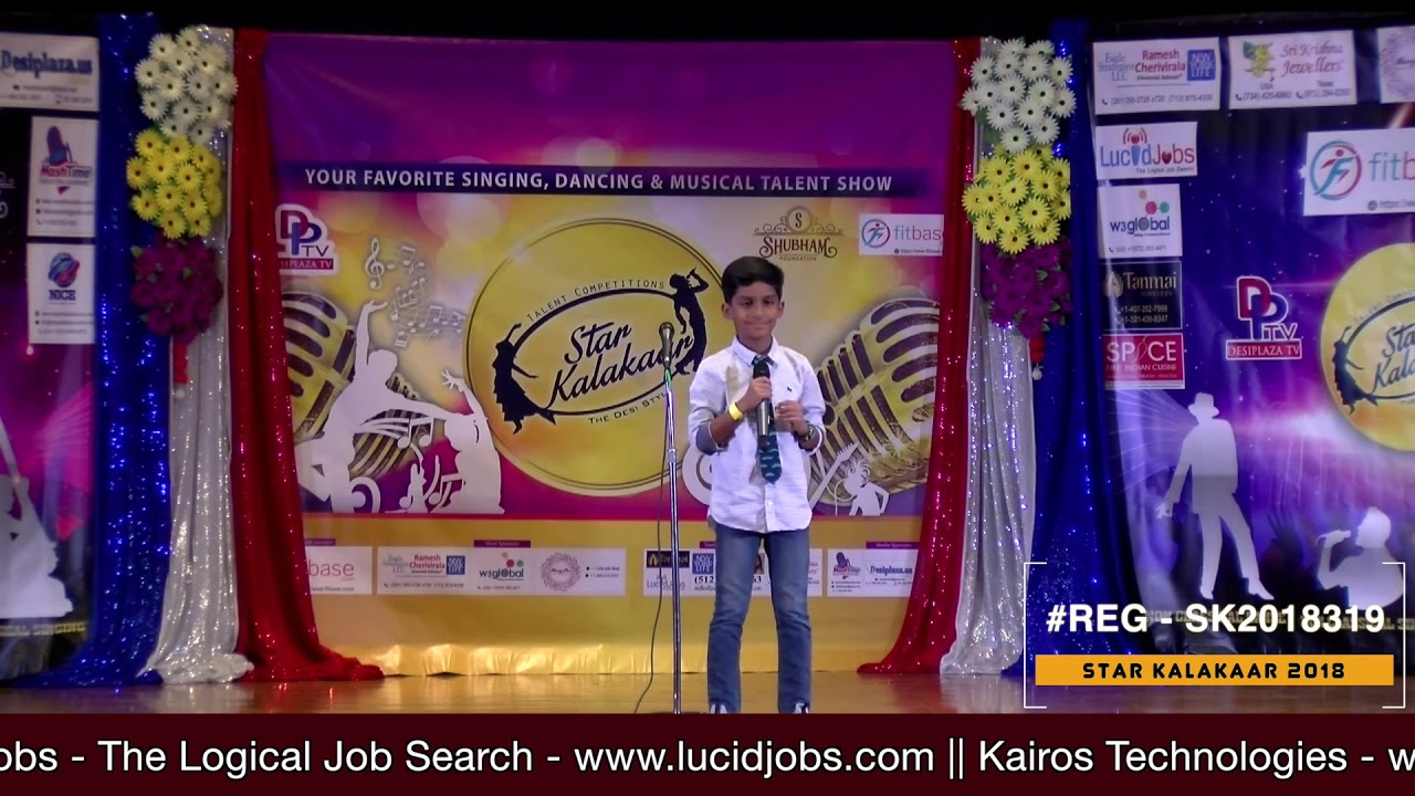 Registration NO - SK2018319 - Star Kalakaar 2018 Finals - Performance
