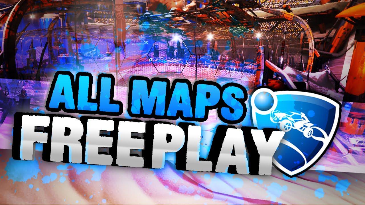how to use rocket league mod maps