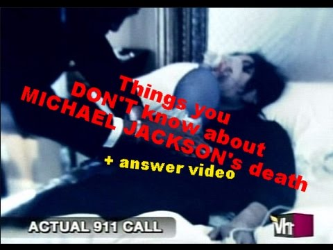 FACTS you DON'T know about MICHAEL JACKSON's death ...
