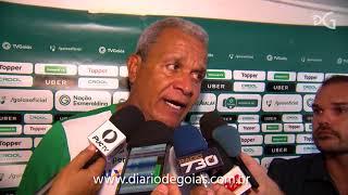 Hélio dos Anjos lamenta veto para Goiás treinar no Serra Dourada