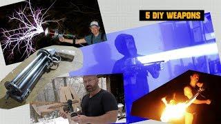5 Insane DIY Weapons