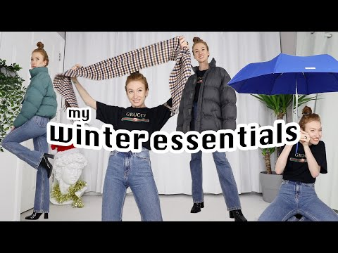 my 15 (british) winter fashion essentials | & tips for wearing winter clothes