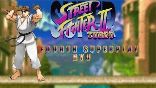 Super Street Fighter II Turbo - Ryu【TAS】