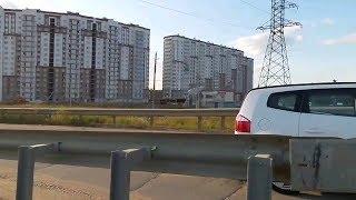 Новое Домодедово и трасса М4 Дон четыре года назад / New Domodedovo and the M4 Don