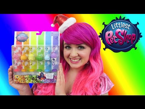 littlest-pet-shop-rainbow-friends-teensie-lps-collection- -toy-review- -kimmi-the-clown