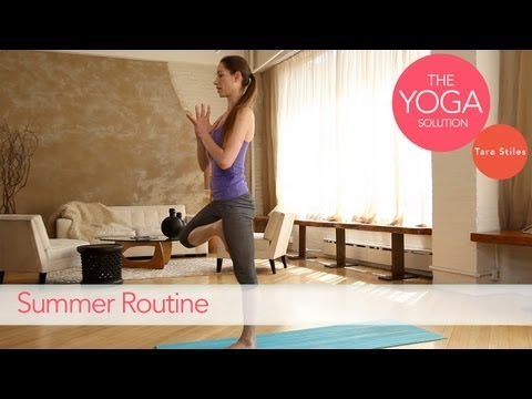 Summer Routine | The Yoga Solution With Tara Stiles