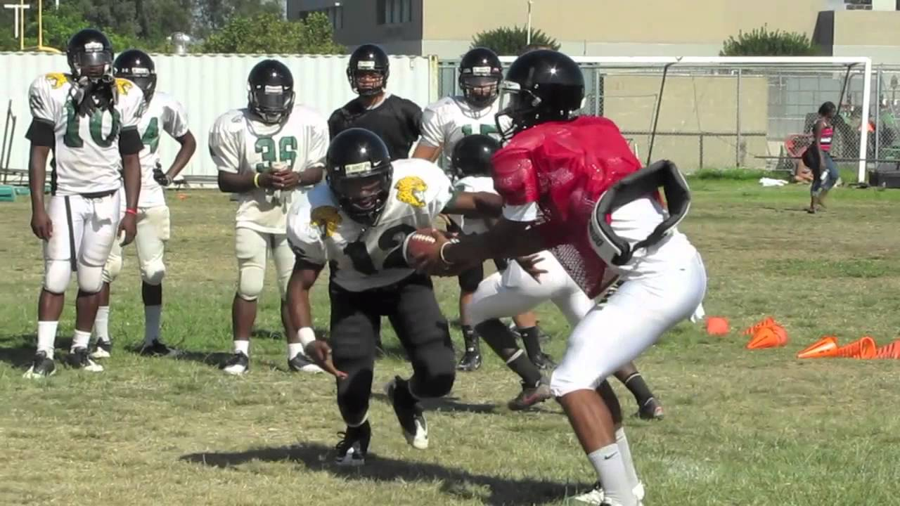 Long Beach Cabrillo Football Preview 2011 - YouTube